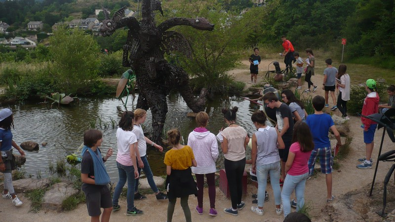 voyage millau college sallies de bearn2