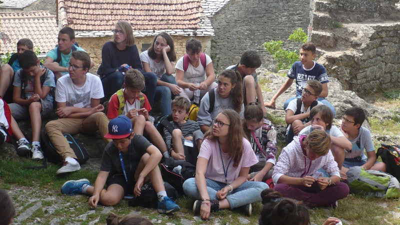 voyage millau college sallies de bearn3