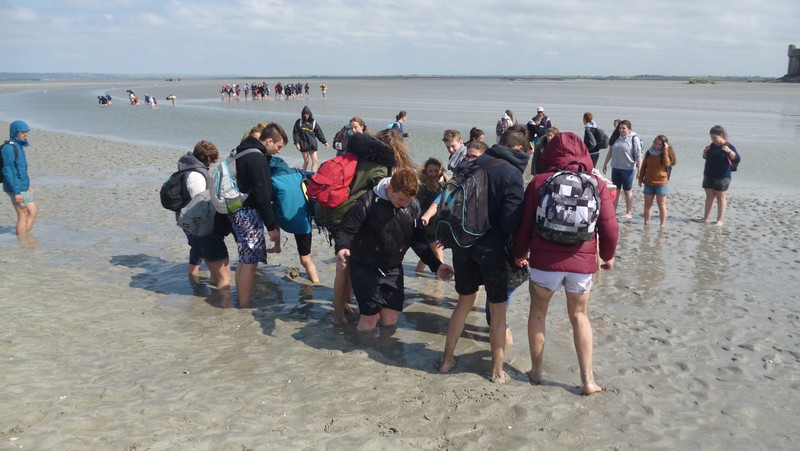 voyage normandie college sallies de bearn3